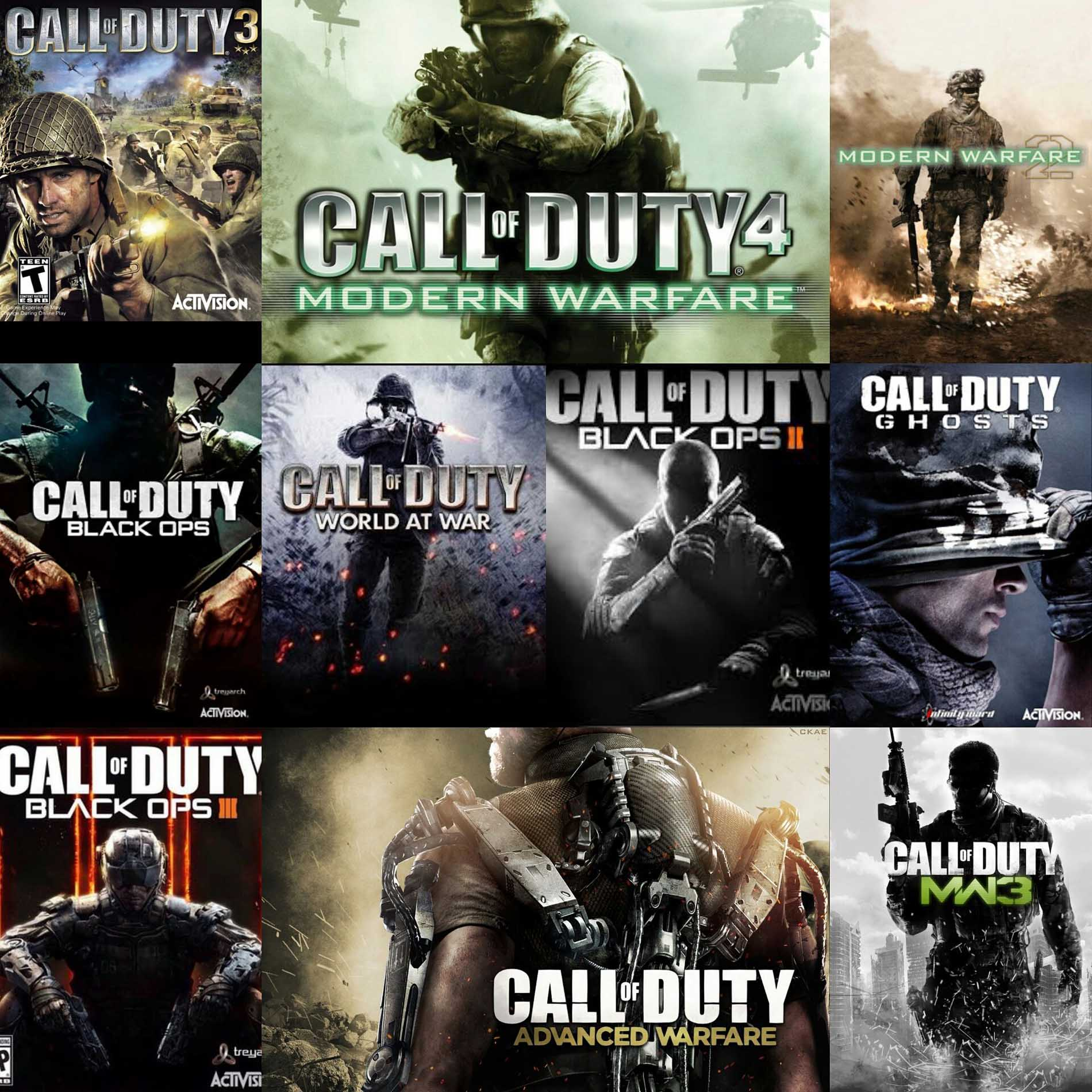 Call Of Duty Serie