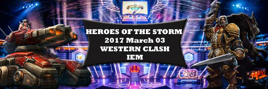 Heroes Of The Storm Western Clash