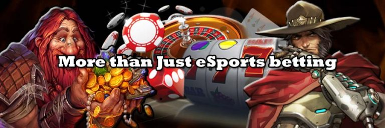 Image for article about more than just eSports betting