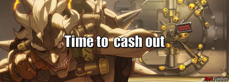 Cash out betting header