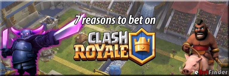 Header for 7 reasons to bet on Clash Royale