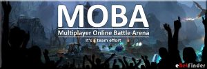 Header to the history of MOBA