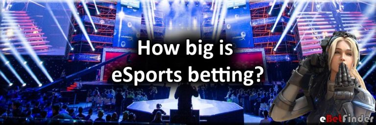 How big is eSports betting banner