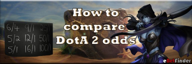 How to compare Dota 2 odds
