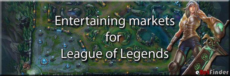 Entertaining markets League of Legends