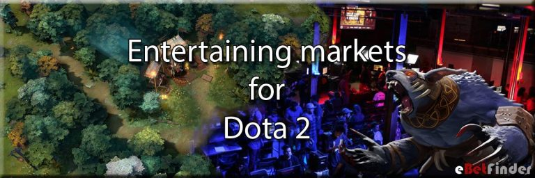 Entertaining markets Dota 2
