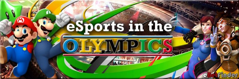 Header for Olympic eSports article