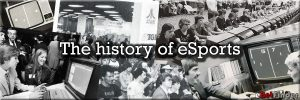 Header for article about the history of eSports