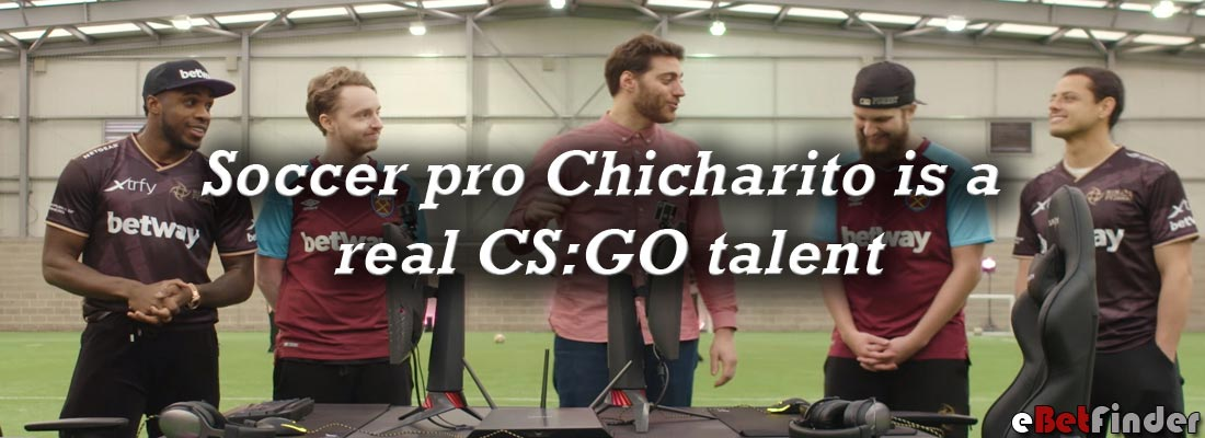 Chicharito CS:GO talent header
