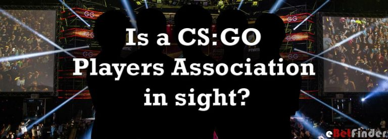 Header for article about a CS:GO Players Association