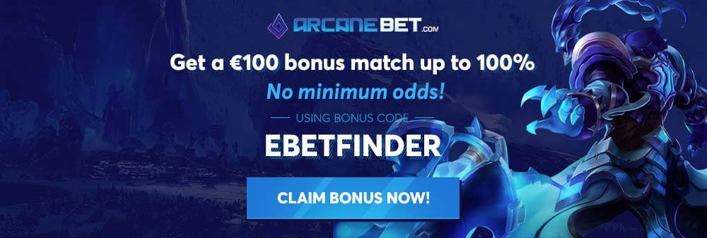 ArcaneBet Review: 2x Bonus Codes to be Claimed | eBetFinder