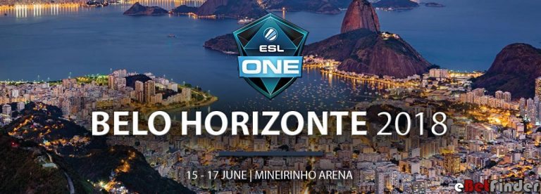 Header of ESL One Belo Horizonte article
