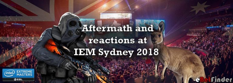 Header for reactions at IEM Sydney article