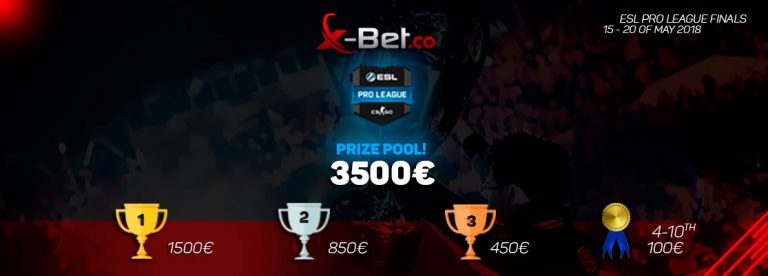 X-Bet €3500 competition