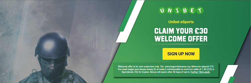 esports betting with unibet