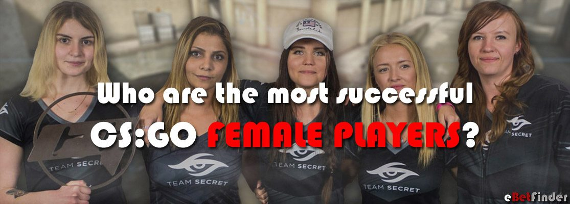 Top 10 list with the best female CS:GO players 2018