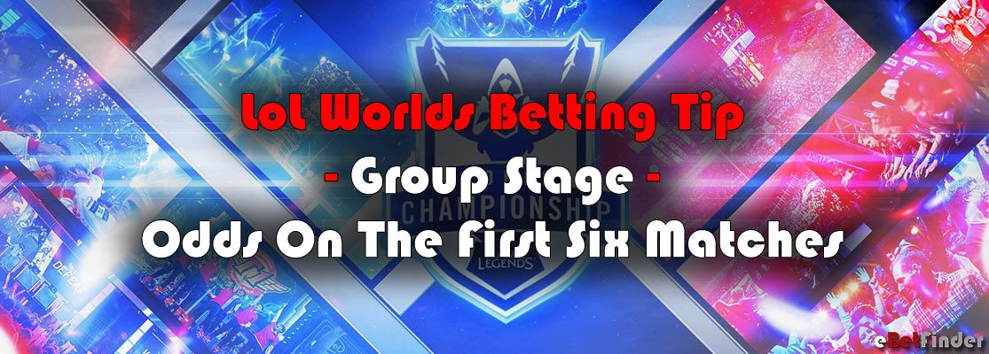 LoL Worlds – Group Stage – First Six Matches