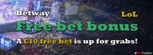 Betway free bet MSI LoL