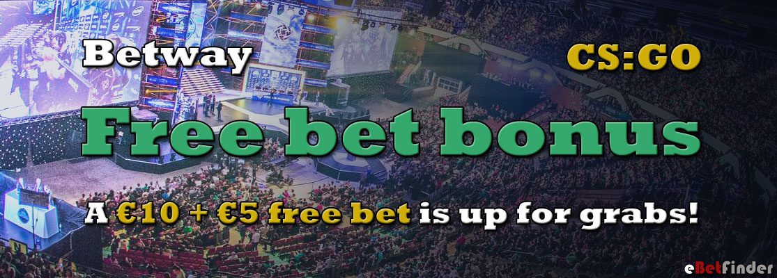 Bet on the ESL One Cologne Finals and get a €10 + €5 free bet!